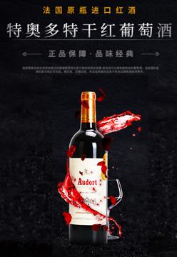 法国特奥多特干红葡萄酒